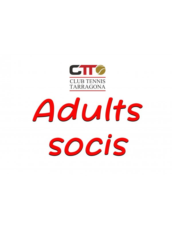 adults - t20/21 (reserva plaza socios/as)